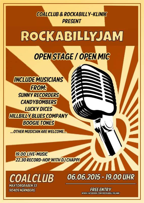 Rockabilly Jam 06 Juni 2015